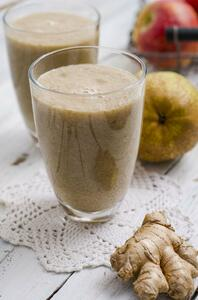Apple, pear and ginger