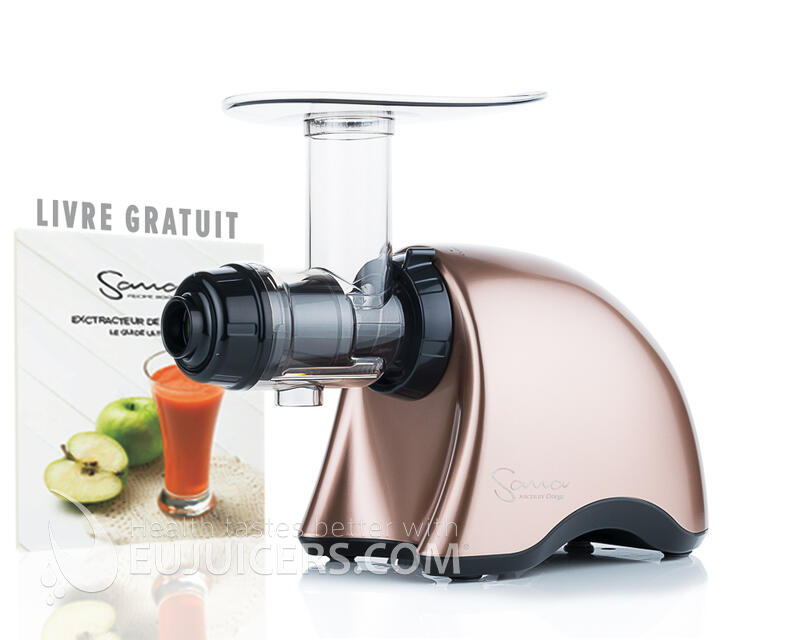 Sana Juicer EUJ-707 Bronze satiné + recipe book
